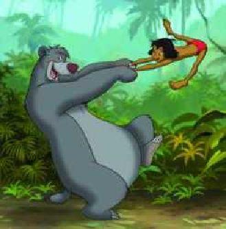 baloo svingar mowgli