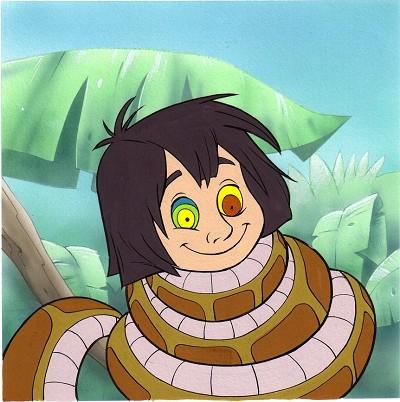 djungelboken mowglii kaa